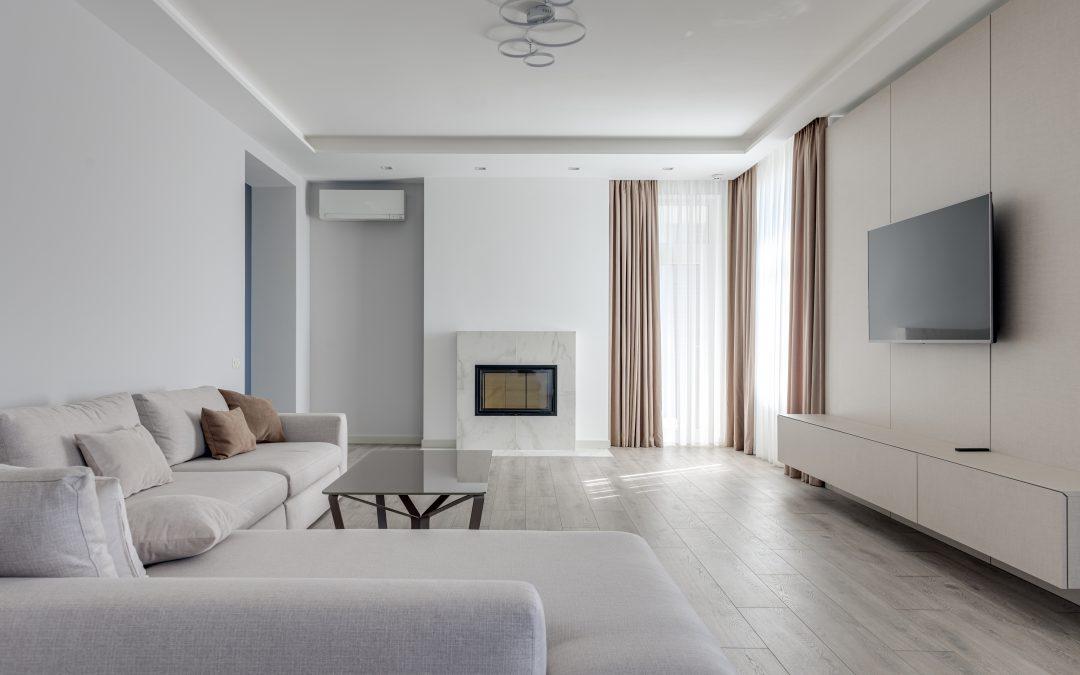 Indret med møbler og interiør fra HAY
