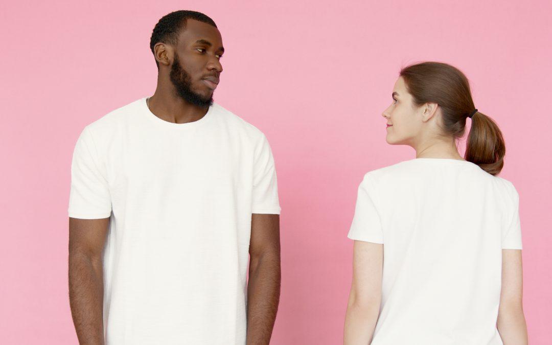 Den perfekte hvide T-shirt