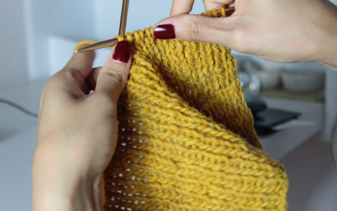 Find dine nye strikkepinde hos Englegarn